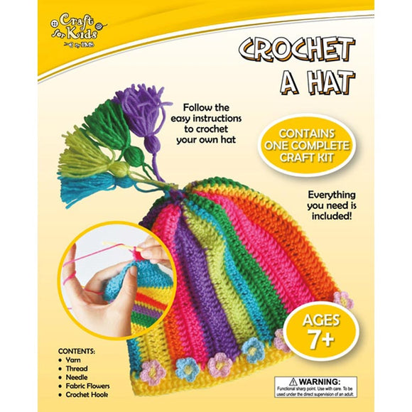 BMS Craft for Kids Crochet a Hat