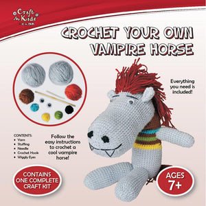 BMS Craft for Kids Crochet Your Own Vampire Horse