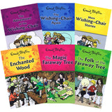 Enid Blyton Faraway Tree & Wishing Chair Collection Book Set