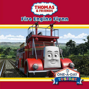 Thomas & Friends One-A-Day Tuesday Fire Engine Flynn Board Book