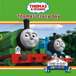 Thomas & Friends One-A-Day Sunday Thomas Crazy Day Board Book