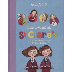 Enid Blyton - The Twins at St Clare's Book
