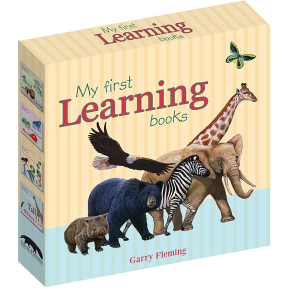 Garry Fleming My First Learning Books Slipcase Set of 4
