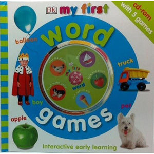 My First Word Games Interactive Book and CD-Rom Set