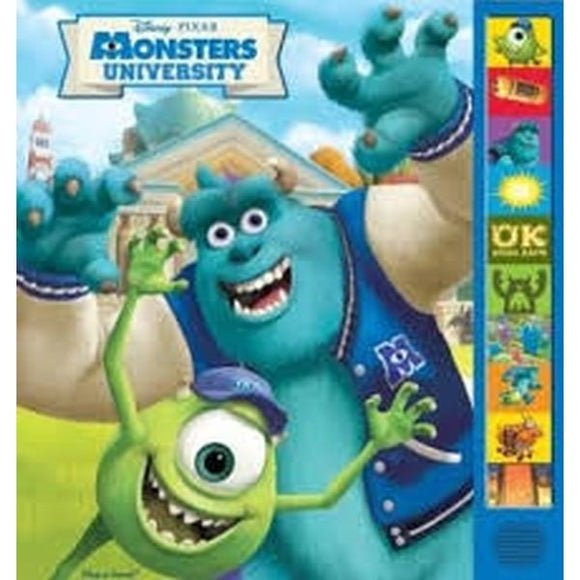 Disney Pixar Monsters University Sound Book