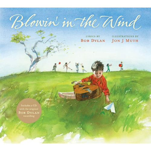 Blowin In the Wind Book & CD