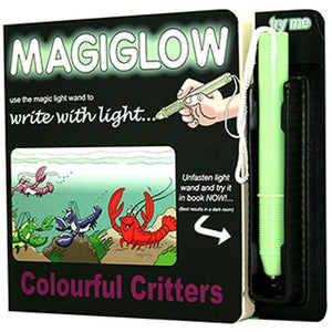 Magiglow Colourful Critters Book