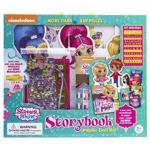 Shimmer and Shine - Storybook Paper Doll Kit