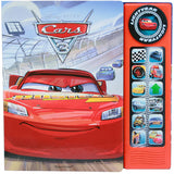 Disney Pixar Cars 3 Lightning McQueen Custom Frame Sound Book