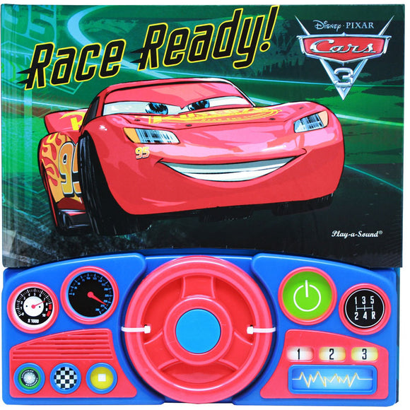 Disney Pixar Cars 3 Lightning McQueen Steering Wheel Sound Book