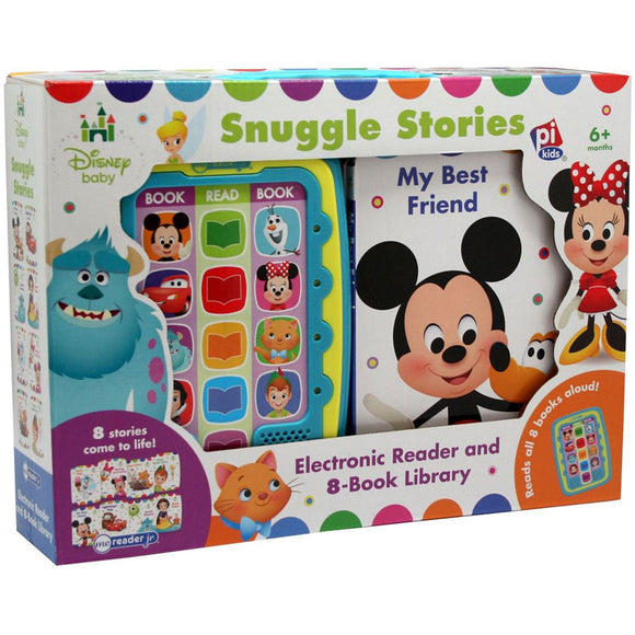 Disney Baby Snuggle Stories - Me Reader Jr. Electronic Reader and 8-Book Library