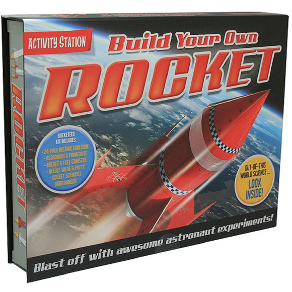 Top That Build Your Own Rocket Activity Station