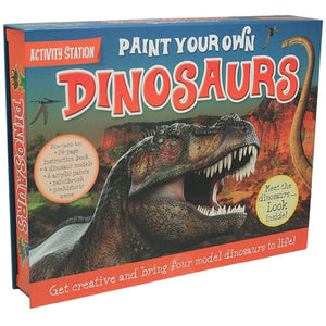 Top That Paint Your Own Dinosaurs Activity Station