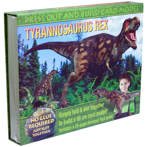 Top That Press Out and Build Card Model - Tyrannosaurus Rex