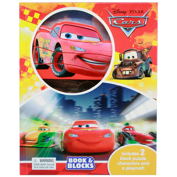 Disney Pixar Cars Book & Blocks