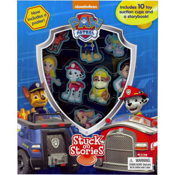 PAW Patrol Stuck On Stories Book
