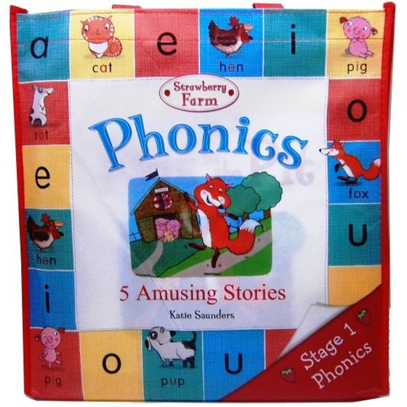 Phonics Set 5 Books in Bag