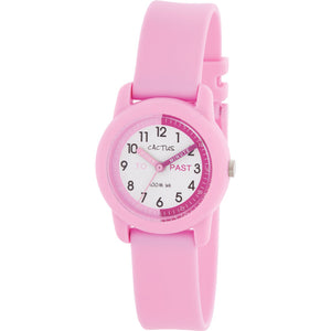 Cactus Nipper 100m Water Resistant Time Teacher Pink