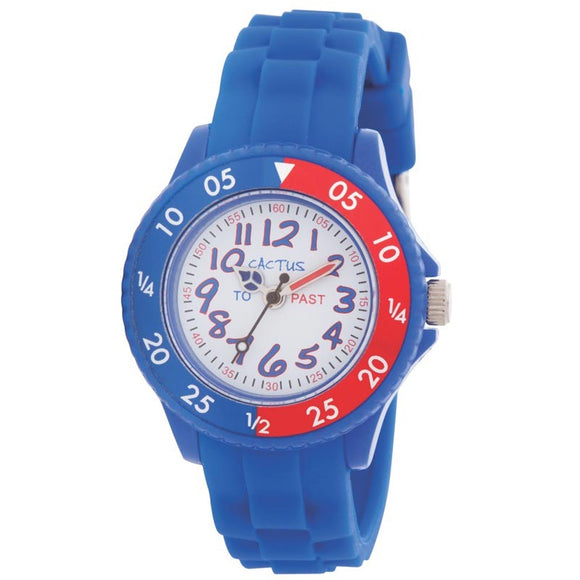 Cactus Time Teacher Watch - Blue