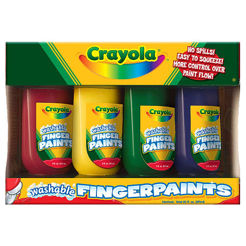 CRAYOLA Washable Fingerpaints