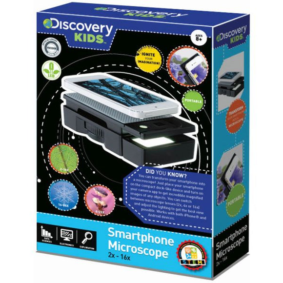 Discovery Kids Smart Phone Microscope