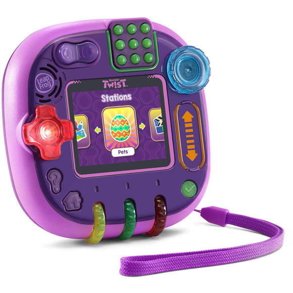LeapFrog RockIt Twist Handheld Gaming System Purple