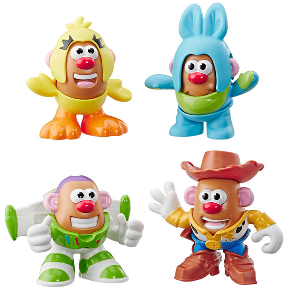 Playskool Mr. Potato Head Toy Story 4 Mini Figures 4-Pack