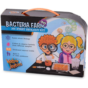Heebie Jeebies Bacteria Farm My First Biology Kit
