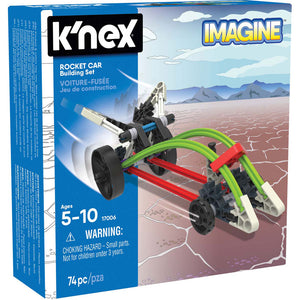 K'Nex Imagine Starter Vehicle Rocket Car Building Set