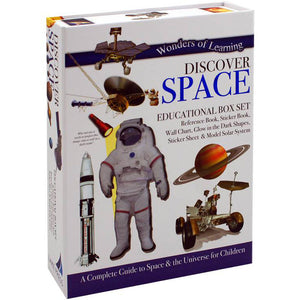 Wonders of Learning Discover Space Educational Box Set