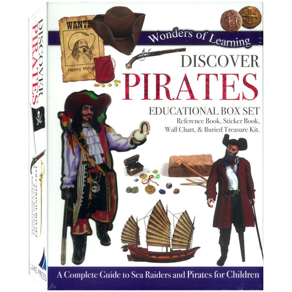 Wonders of Learning Discover Pirates Educational Box Set
