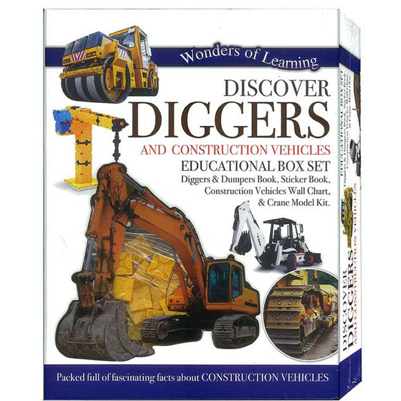 Wonders of Learning Discover Diggers Educational Box Set