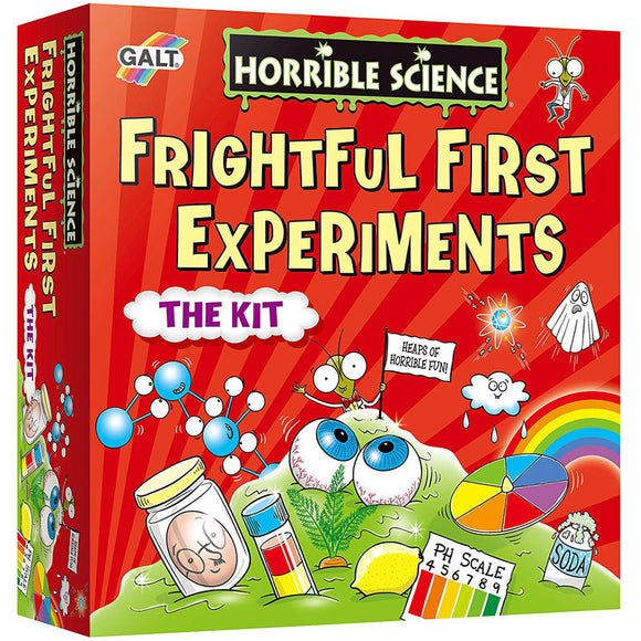 Galt Horrible Science Frightful First Experiments