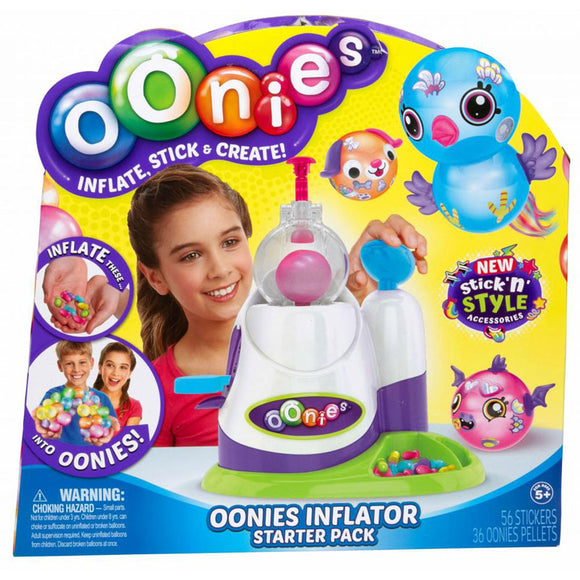 Moose Oonies Regular Inflator Starter Pack Balloons Craft Kit