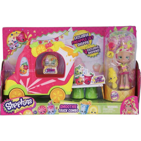 Moose Shopkins Groovy Smoothie Truck with Doll