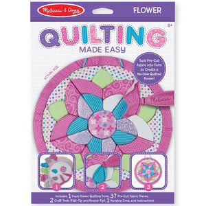 Melissa & Doug Quilting Made Easy Fabric Craft: Flower