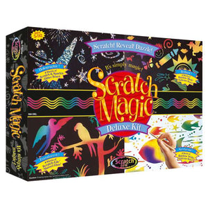 MELISSA & DOUG Scratch Magic Deluxe Kit
