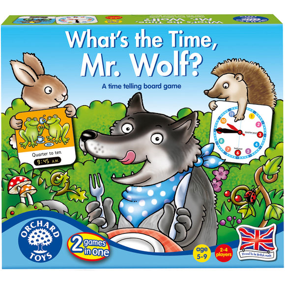 Orchard Toys What's the Time, Mr Wolf Board Game