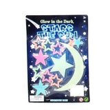 Glow in the Dark Moon & Stars 9-14pcs Assortment