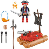 Playmobil Pirates 5655 Pirate Raft Carry Case