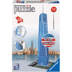 Ravensburger One World Trade Centre 3D Puzzle 216pc