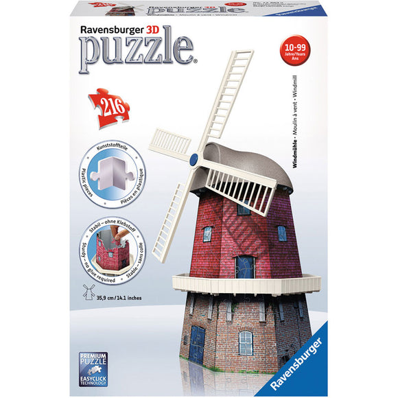 Ravensburger Windmill 3D Puzzle 216pc