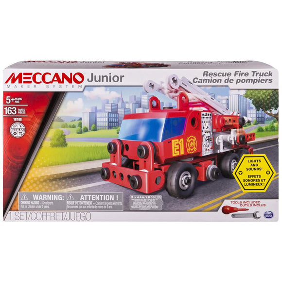 Meccano Junior 16108 Fire Engine Deluxe