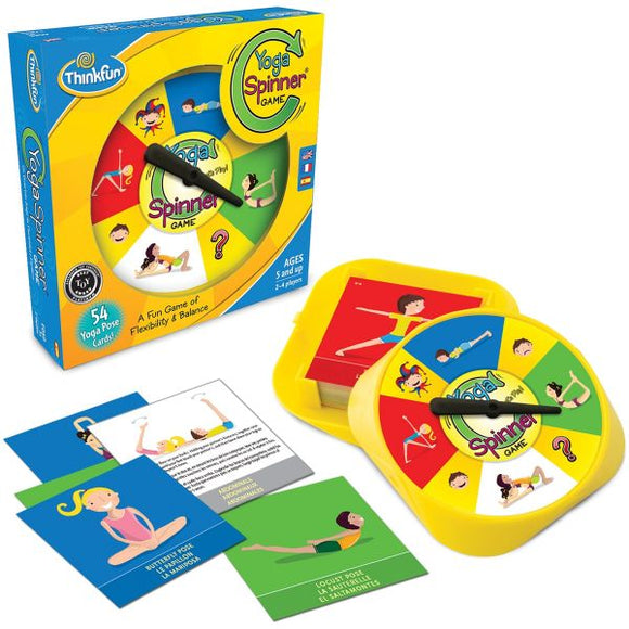 ThinkFun Yoga Spinner Flexibility and Balance Game
