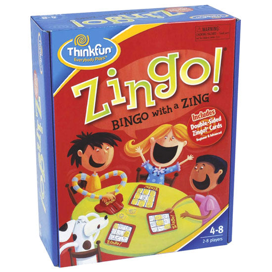 ThinkFun Zingo Bingo With A Zing Game
