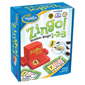 ThinkFun Zingo 123 Number Bingo Game