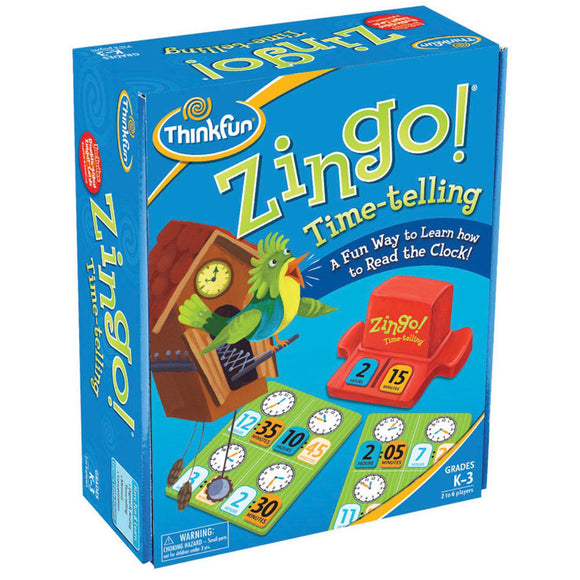 ThinkFun Zingo Time-Telling Game