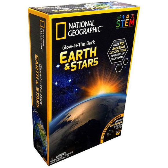 National Geographic Glow-in-the-Dark Earth & Stars
