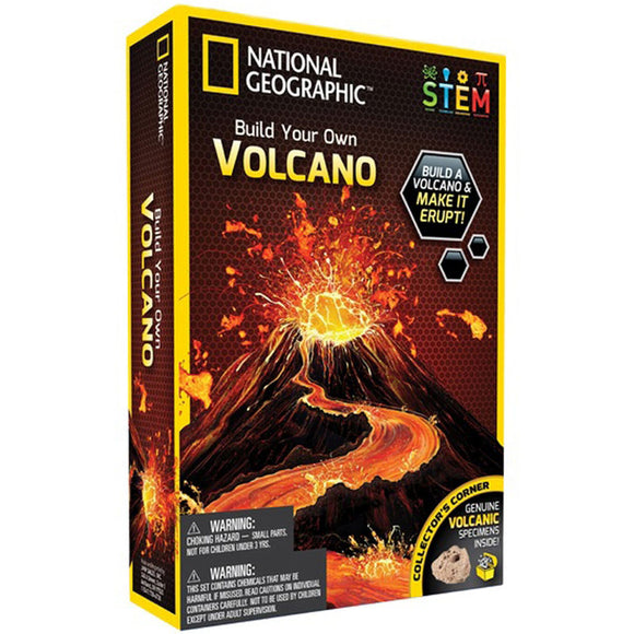 National Geographic Build Your Own Volcano