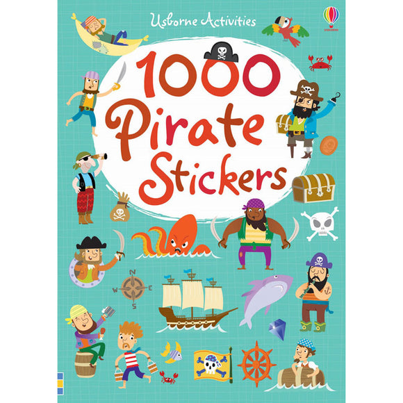 Usborne 1000 Pirate Stickers Book